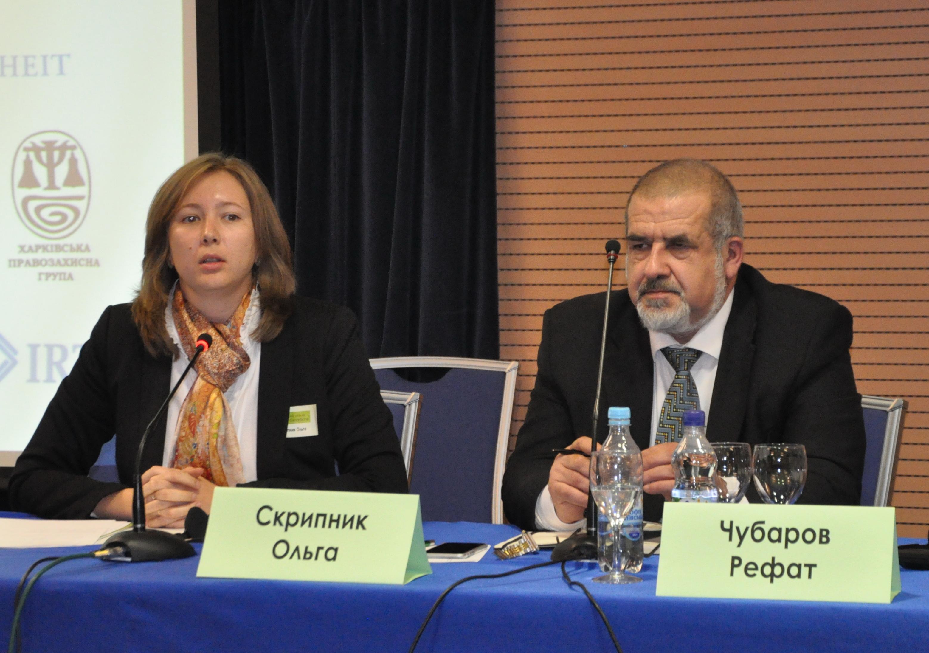 Действия по защите крымчан не должны быть противоправными — Ольга Скрипник