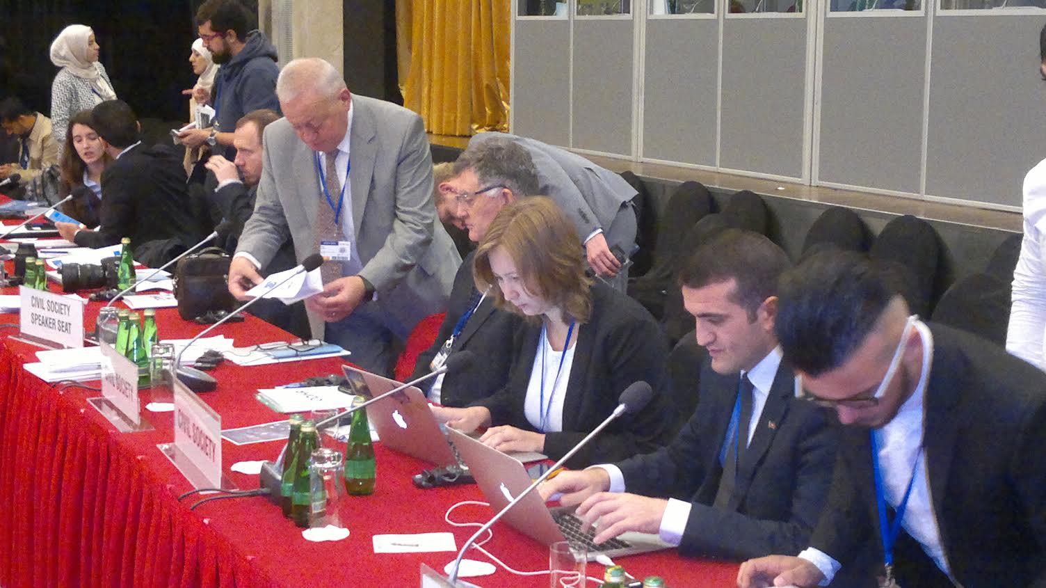 Ольга Скрипник выступила в ОБСЕ с докладом о преступлениях на почве ненависти в Крыму