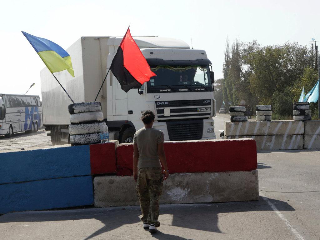 Прокуратура РФ возбудила уголовные дела на участников блокады Крыма