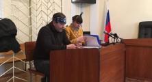 Владимир Балух на заседании суда