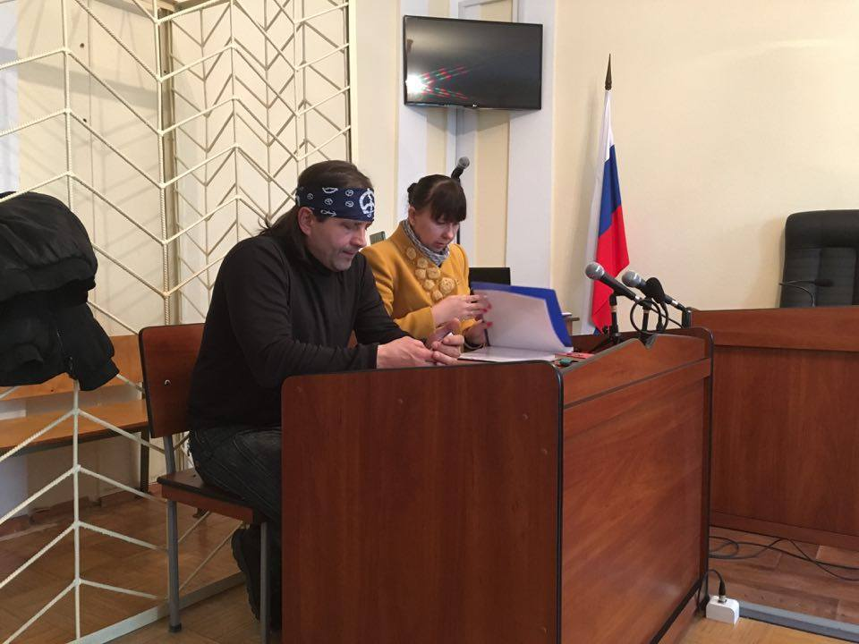 В Крыму состоялось очередное судебное заседания по делу украинца Владимира Балуха