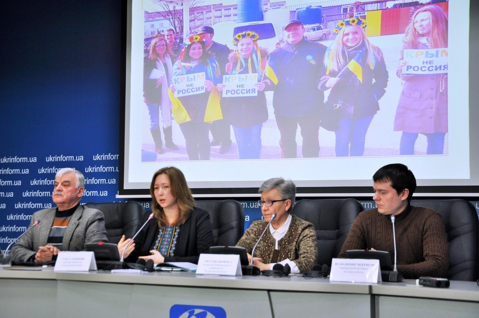 Проблему дискриминации украинцев вКрыму нужно решать намеждународном уровне