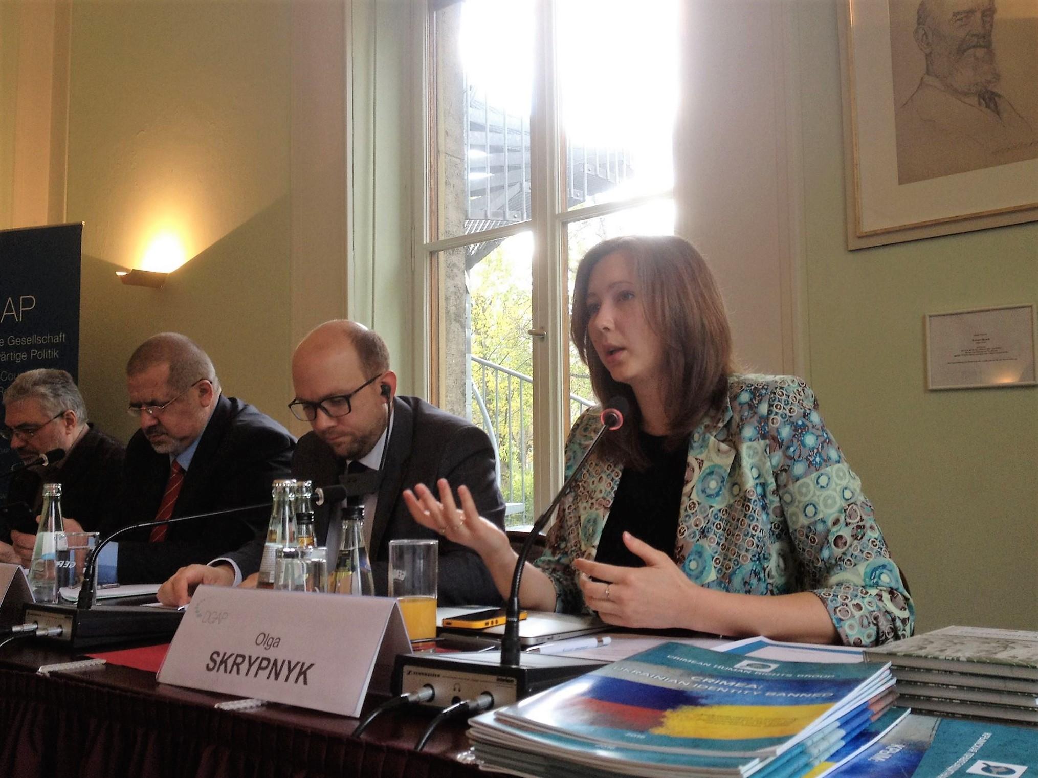 В Берлине обсудили права человека в Крыму и милитаризацию после российской оккупации