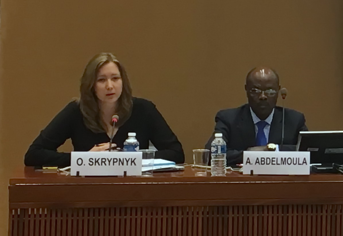 Every day of illegal detention of Ukrainian citizens should cost Russia a lot of money and political losses – Olga Skrypnyk at the UN.