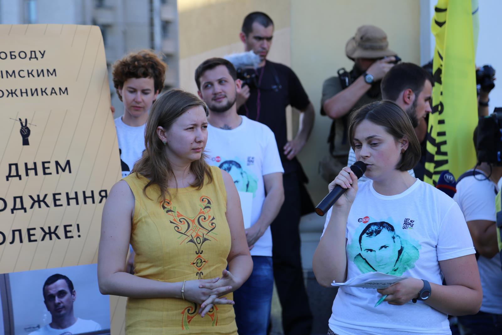 Режим боится свободных людей, а Олег Сенцов — свободный человек! – Ольга Скрипник