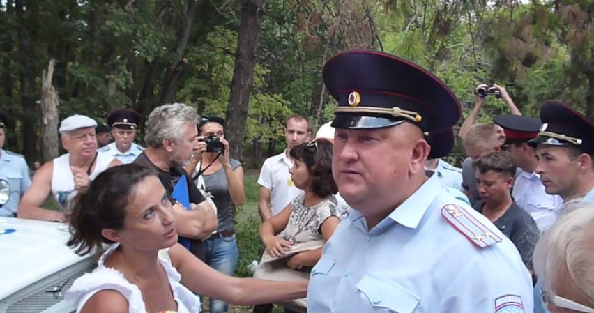 У Криму судять проросійську активістку за участь у мітингу, що не відбувся