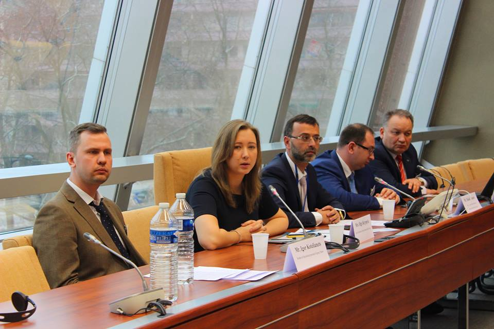 In PACE Olga Skrypnyk called for the immediate release of the political prisoner Baluch who was illegally arrested in Crimea