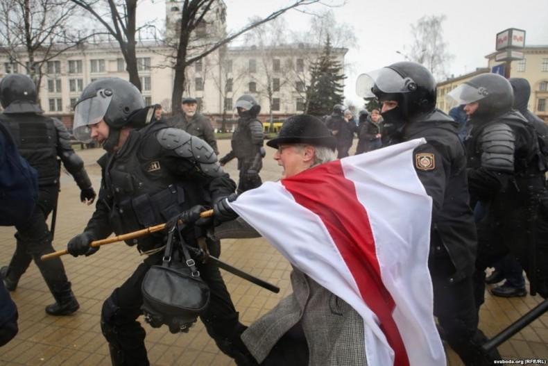 Звернення українських правозахисних організацій щодо затримання більше 1000 учасників мирних зібрань в Білорусі