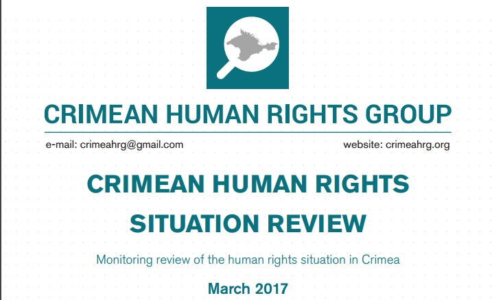 Review on the human rights situation in Crimea in March 2017