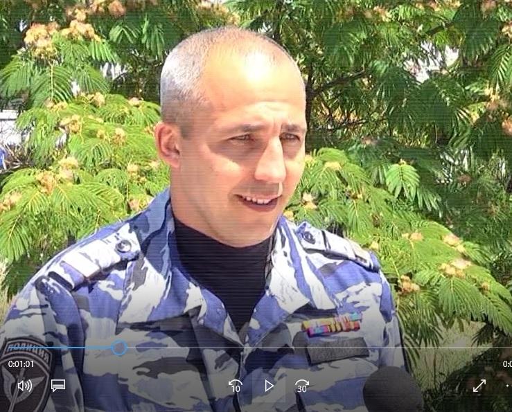 Полицейский, избивший украинского активиста Мовенко в Крыму, — сотрудник «Беркута»