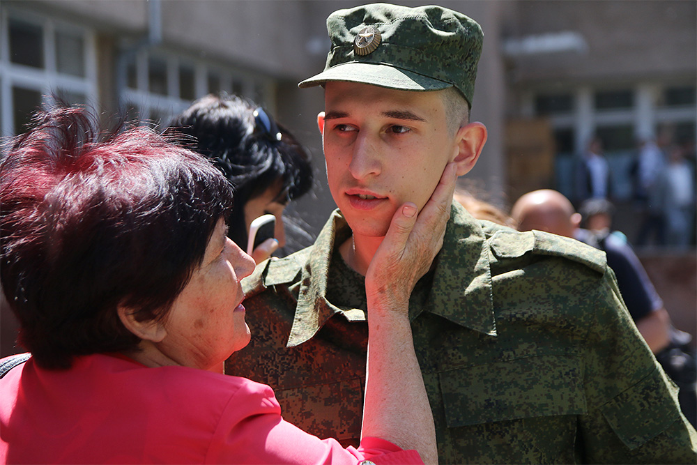 The military conscription of Crimean residents to the Russian army grossly violates international humanitarian law