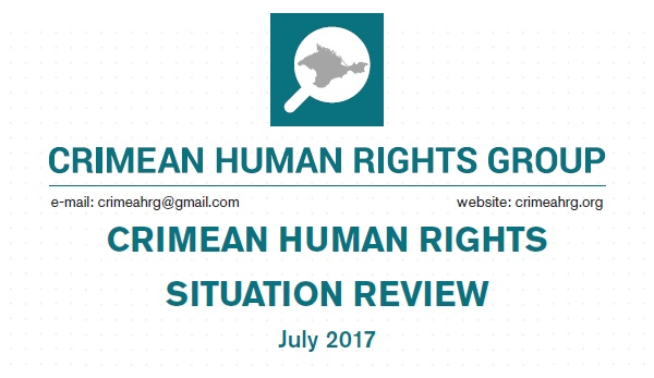 Review on the human rights situation in Crimea in July 2017