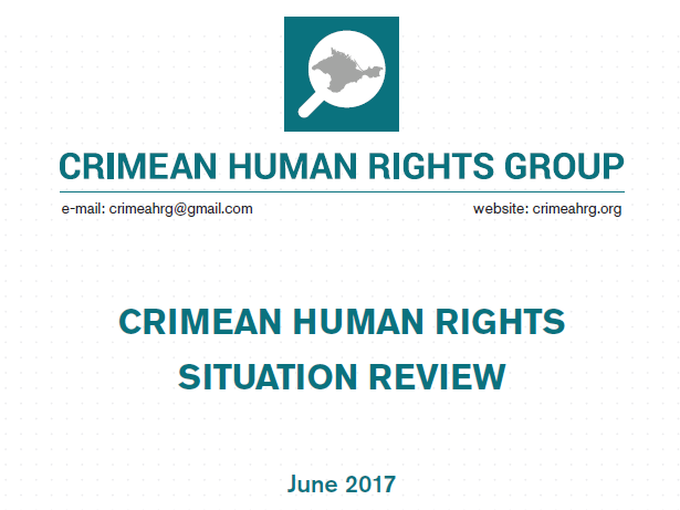 Review on the human rights situation in Crimea in June 2017