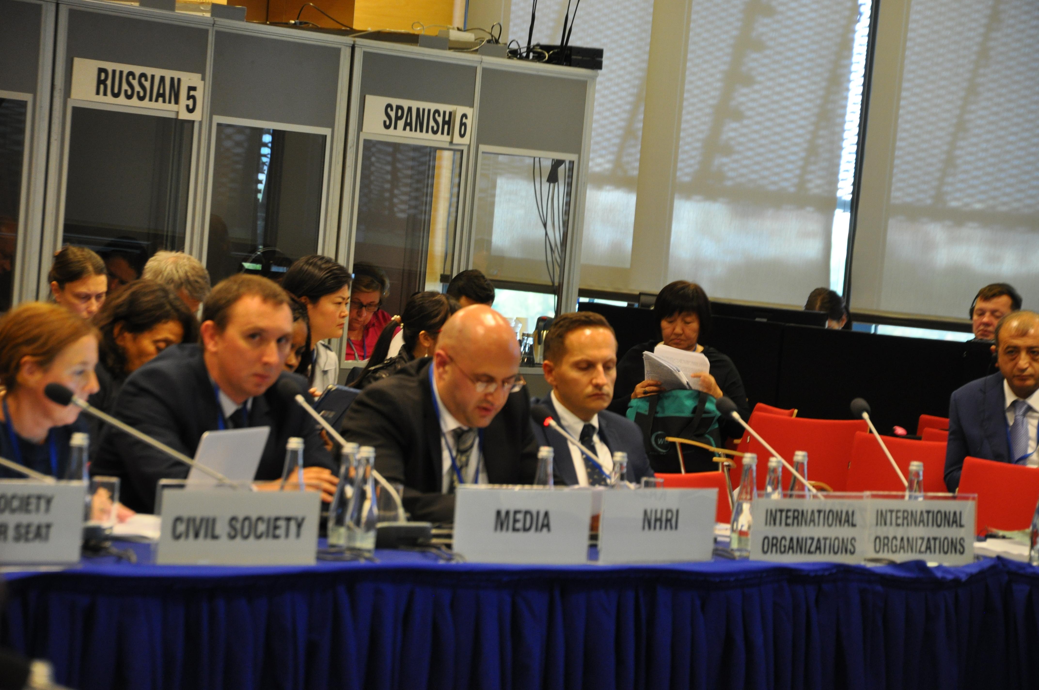 На заседании ОБСЕ правозащитники потребовали остановить депортацию украинских граждан из Крыма в РФ
