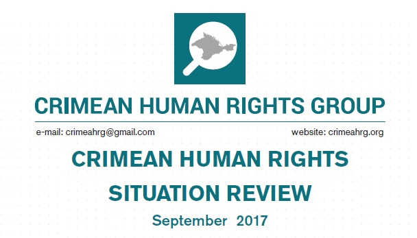 Review on the human rights situation in Crimea in September 2017