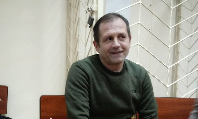 """You can't force me to love ""the new homeland"" – said Vladimir Balukh in the ""court"""