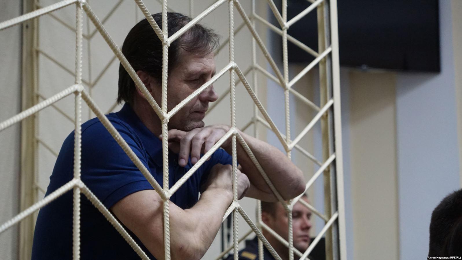 Владимира Балухав крымском СИЗО посетила российский омбудсмен