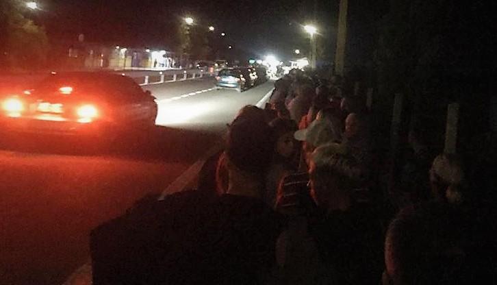 На въезде в Крым на КПВВ Каланчак ночью была очередь из 400 человек