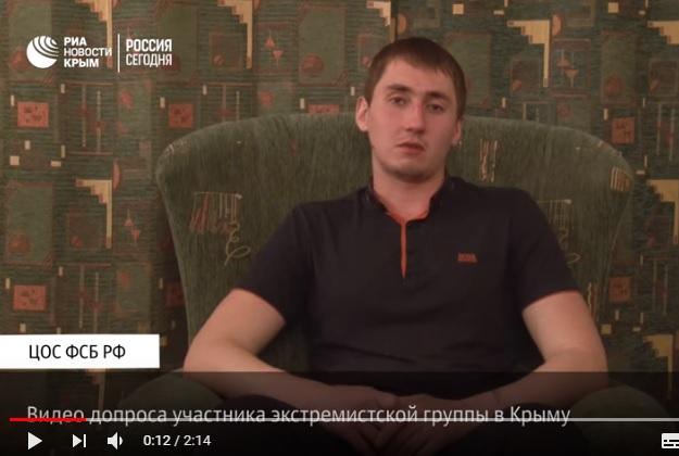 Українцю Стешенку, затриманому у Криму за «екстремізм», дали 2 роки колонії за псування майна