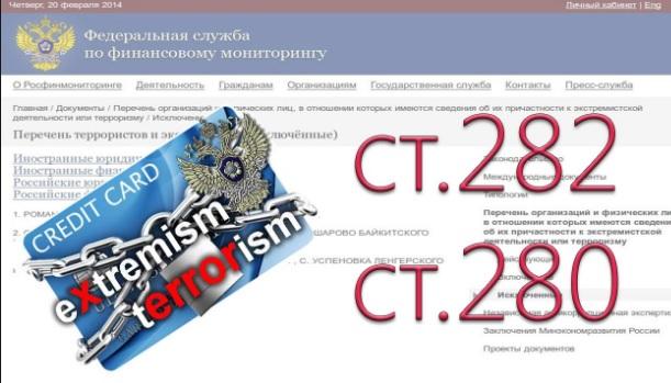 До «списку екстремістів і терористів» у Криму заносять людей, котрих переслідують з політичних мотивів