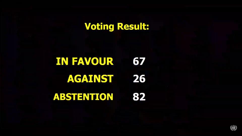 Третій комітет Генасамблеї ООН ухвалив резолюцію по Криму