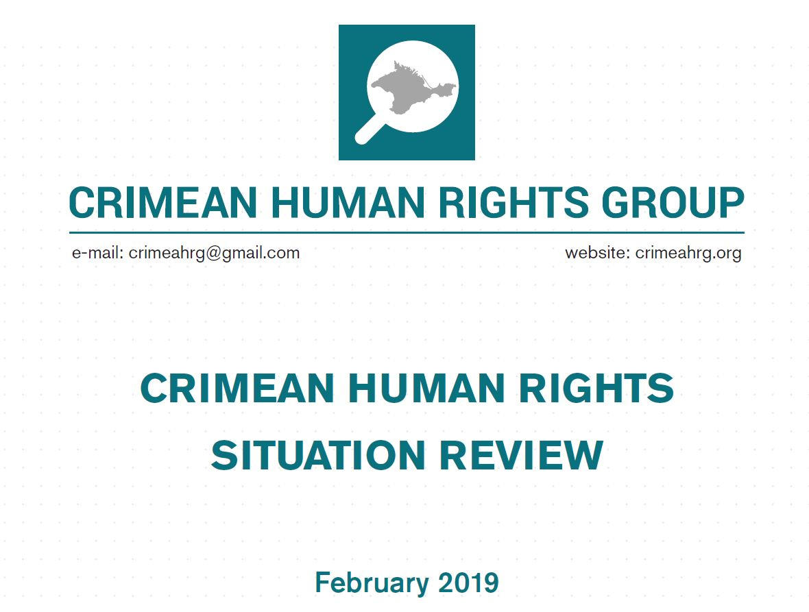 Review on the human rights situation in Crimea in February 2019