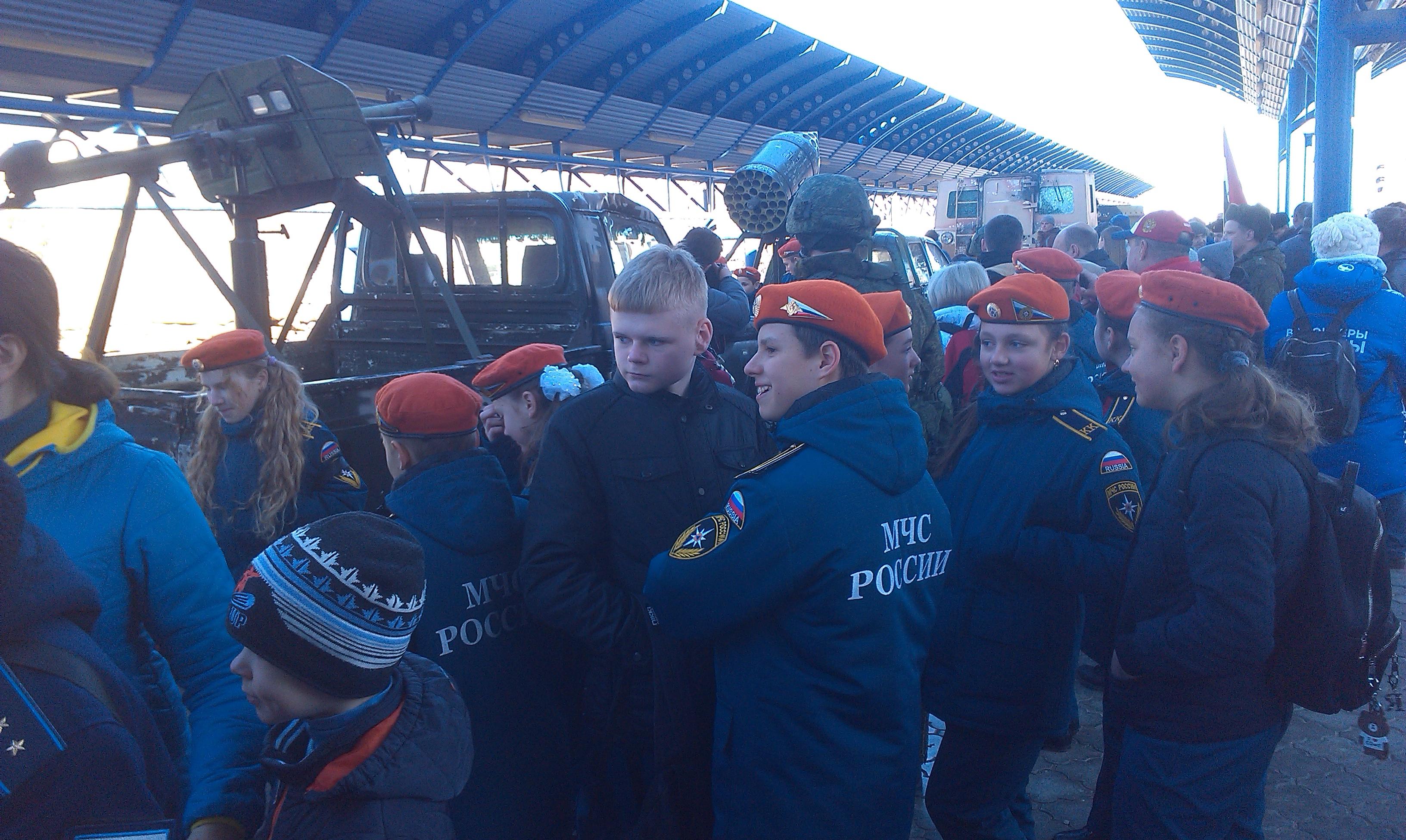 Росія провела у Севастополі заходи для пропаганди війни (світлини)
