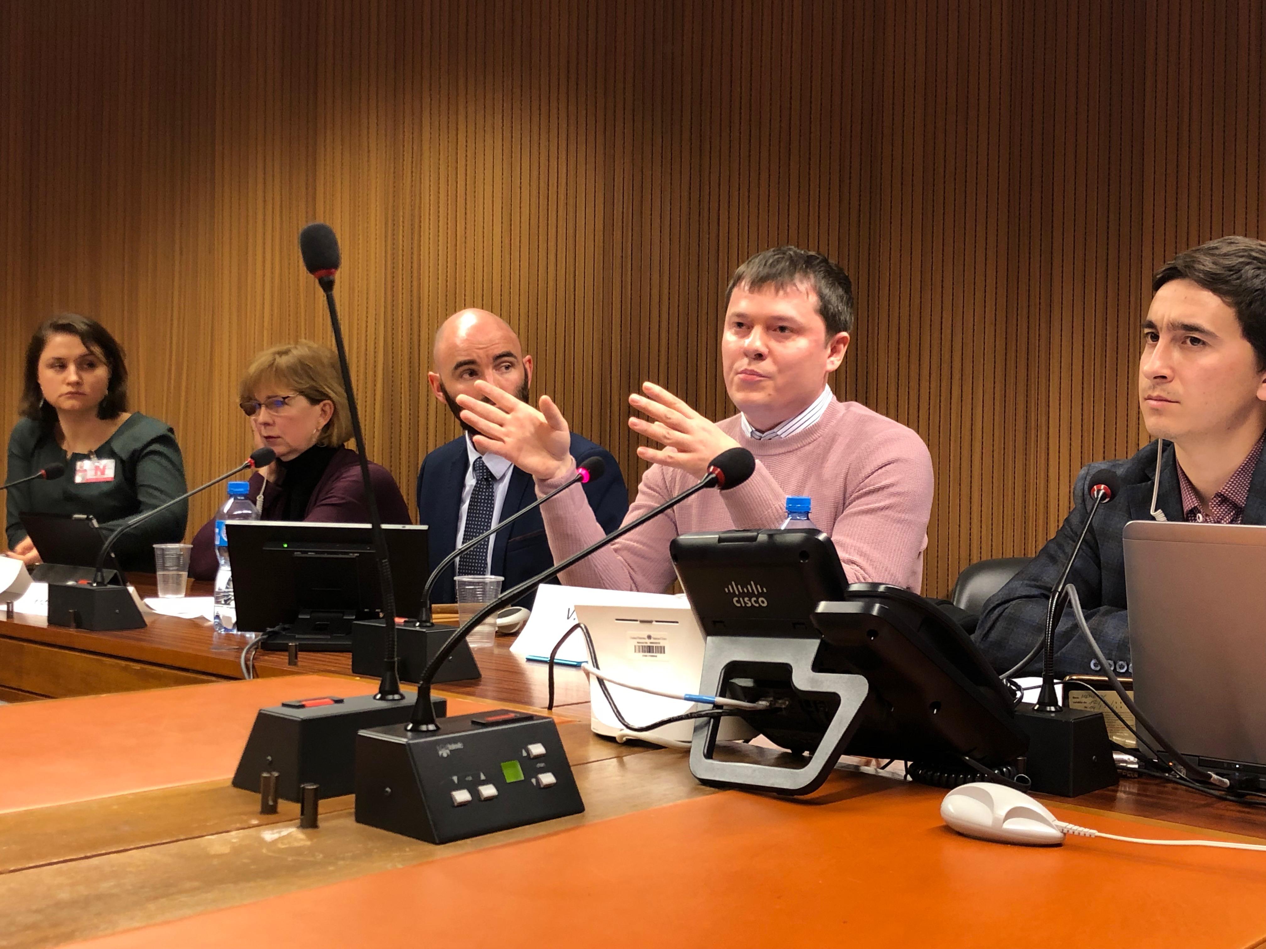 Владимир Чекрыгин на сессии СПЧ ООН рассказал об ухудшении ситуации с правами человека в Крыму