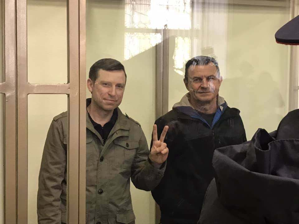 Mr Dudka and Mr Bessarabov, 'Ukrainian Commandos', sentenced to 14 years in the penal colony and penalties in Sevastopol