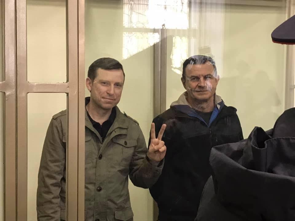 «Украинских диверсантов» Дудку и Бессарабова в Севастополе приговорили к 14 годам колонии и штрафам