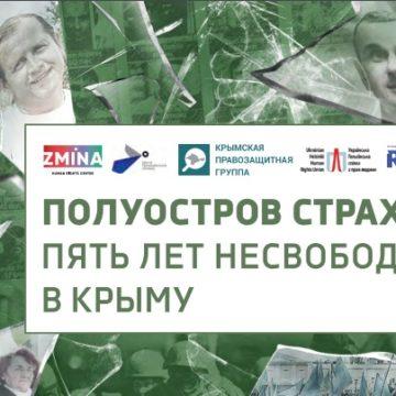 Опубликована электронная версия книги «Полуостров страха: Пять лет несвободы в Крыму»