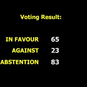 Державна Асамблея ООН ухвалила резолюцію про захист прав людини в окупованому Росією Криму