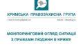 Моніторинговий огляд ситуації з правами людини у Криму за січень 2019