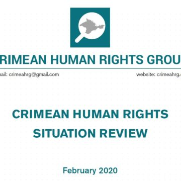 Review on the human rights situation in Crimea in February 2020