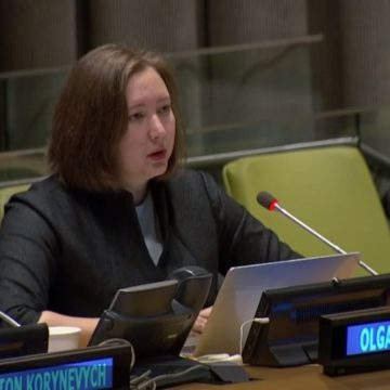 Ms Skrypnyk: Without Instruments to Force the RF to Comply with UN Resolutions the Human Rights Violations in Crimea Will Continue
