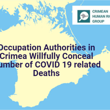 Occupation Authorities in Crimea Willfully Conceal Number of COVID 19 related Deaths