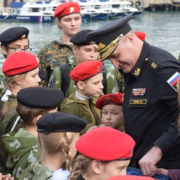 Russia in Crimea Deprives Children Of Ukrainian Identity
