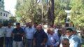 Свидетель по «делу Мустафы Джемилева» заявил, что накануне встречи лидера крымскотатарского народа он видел военные грузовики и людей в форме хаки с оружием