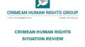 Review on the human rights situation in Crimea in October 2020