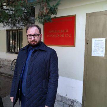 Свидетель обвинения в суде заявил, что М. Джемилев не пытался продвинуться за территорию КПП в сторону Армянска