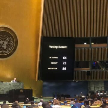 Recommendations of Crimean Human Rights Group Included into UN Resolution Adopted by UN General Assembly