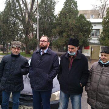 На засіданні у справі Джемілєва  свідок негативно відгукувався  про кримських татар