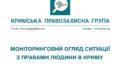 Моніторинговий огляд ситуації з правами людини у Криму за грудень 2020