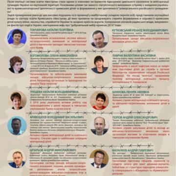 Винні в мілітаризації кримських дітей: правозахисники опублікували список