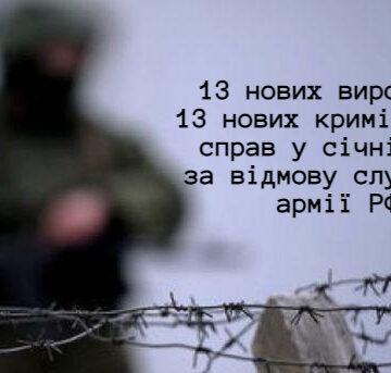 У Криму більшає кількість вироків за відмову служити в армії окупанта
