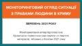 Моніторинговий огляд ситуації з правами людини у Криму за березень 2021