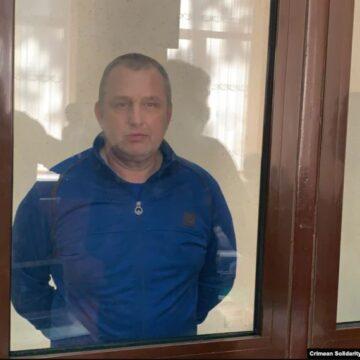 Владислав Есипенко в крымском СИЗО: «Он сильный духом человек»