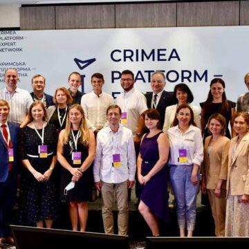 Ольга Скрипник розповіла, що і в які способи робитиме експертна мережа Кримської платформи